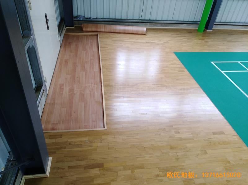 巴布亚新几内亚羽毛球馆运动地板安装案例3