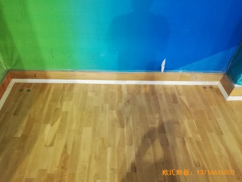 赣州体育馆体育地板铺装案例0