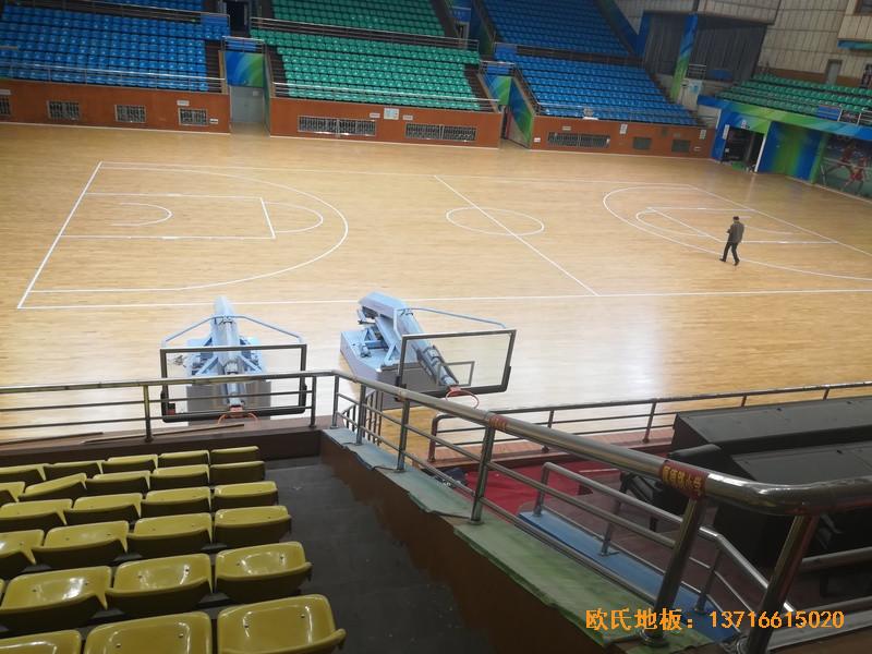 赣州体育馆体育地板铺装案例3