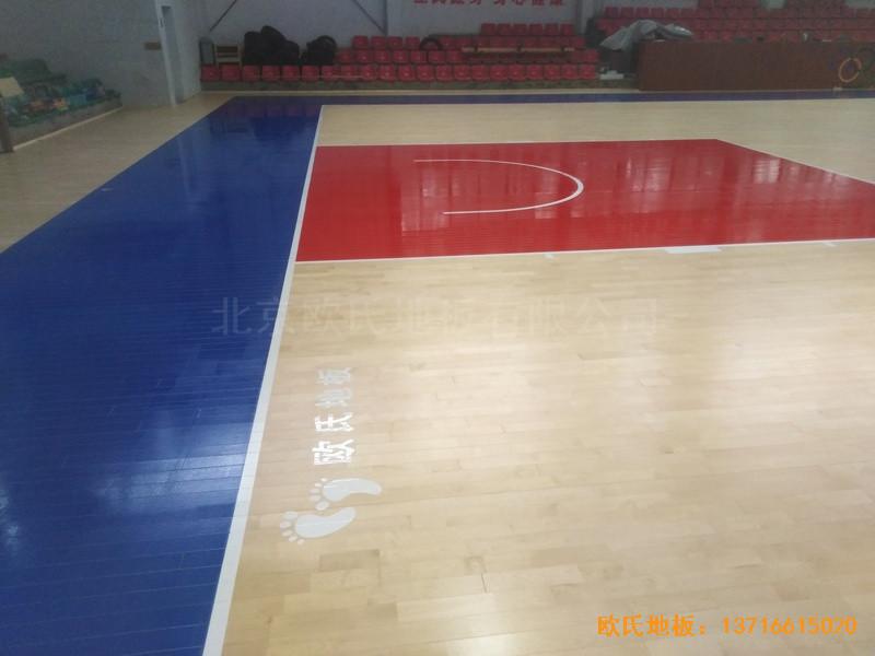 江西宜春公路局体育馆体育地板铺设案例4