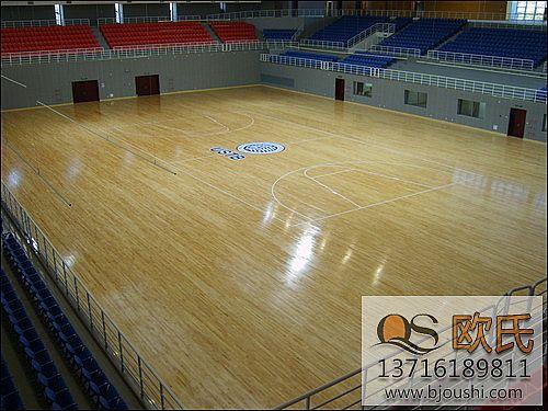 篮球地板运动地板接缝处理步骤
