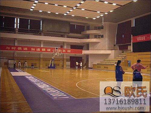 欧氏体育运动地板专业的篮球地板生产商