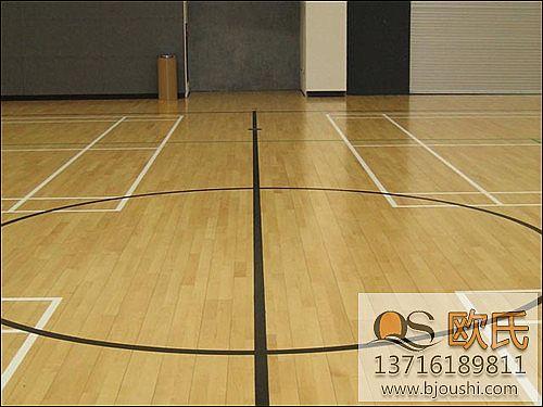 篮球木地板清洁方法