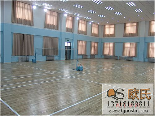 篮球馆木地板清洁方法