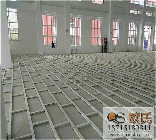 体育木地板自流平水泥是什么