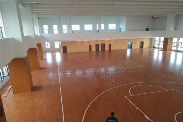 篮球木地板,材质选择很重要!